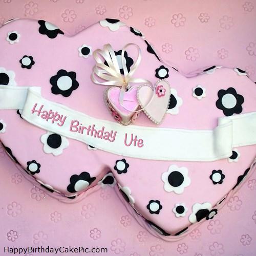 Birthday Double Cake With Name