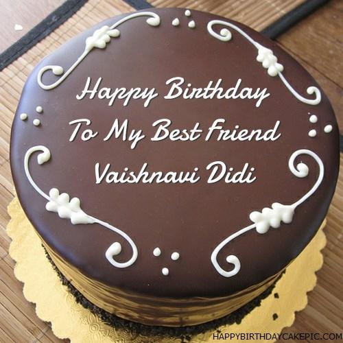 Best Chocolate Birthday Cake For Vaishnavi Didi