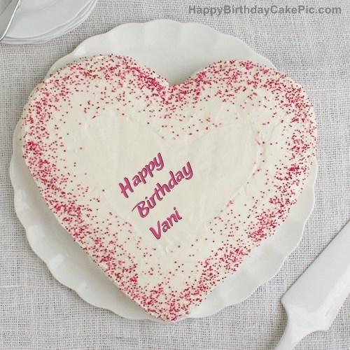 Happy Birthday Vani Cake