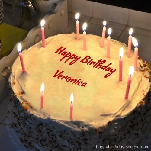 Happy Birthday Images Veronica Cake