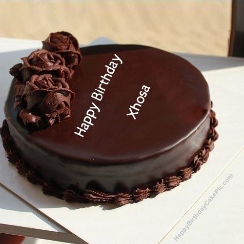 ❤️ girls birthday wish chocolate rose cake for xhosa