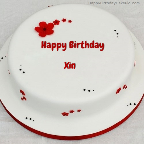 write name on Simple Birthday Cake