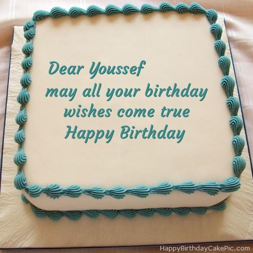 Happy Birthday Cake With Books