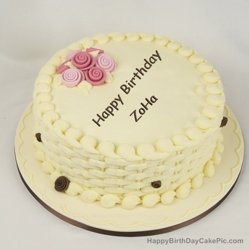 Happy Birthday Cake for Girls For ZoHa