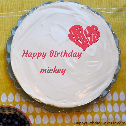 Happy 19th Happy Birthday Cake For mickey