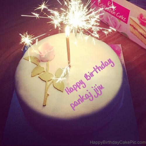 Birthday Cake Pics For Jiju : Best Happy Birthday Cake For Lover For pankaj jiju