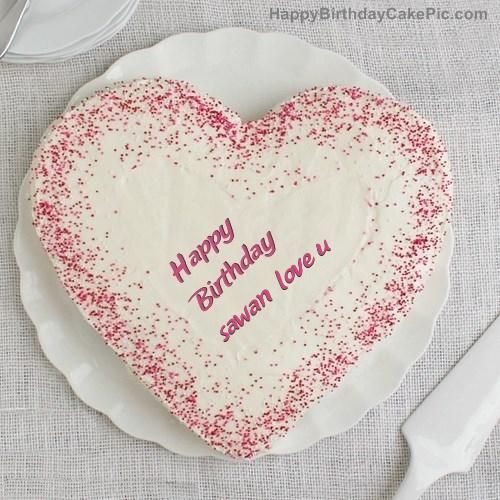 Sprinkle Birthday Cake For sawan love u