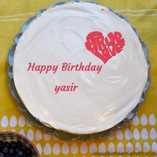 Fabulous Happy Birthday Cake For Yasir