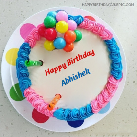 Abhishek Happy Birthday Cakes photos