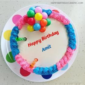 Amit Happy Birthday Cakes photos