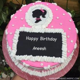 Beautiful Birthday Cake For Anish