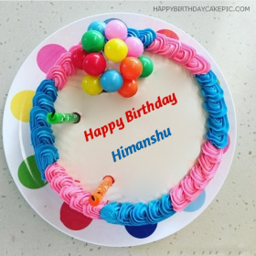 Birthday Cake Images With Name Himanshu : Himanshu Happy Birthday Cakes photos