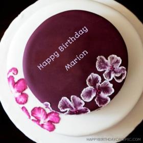 Happy Birthday Marion Cake