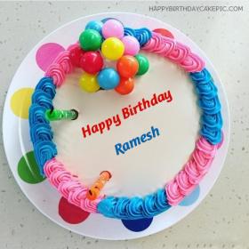 Ramesh Happy Birthday Cakes photos