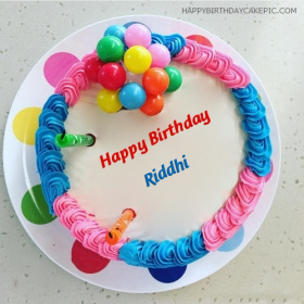 Happy Birthday Riddhi Cake Images
