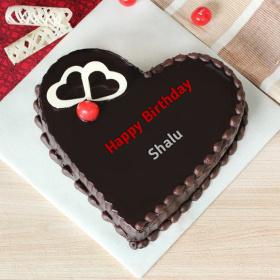 Shalu Happy Birthday Cakes Photos
