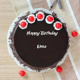 Uma Happy Birthday Cakes Photos